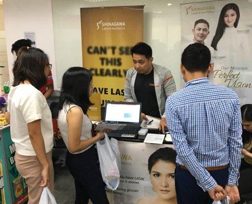 Shinagawa Lasik & Aesthetics at Home Credit Consumer Philippines 2019 | Shinagawa News & Events