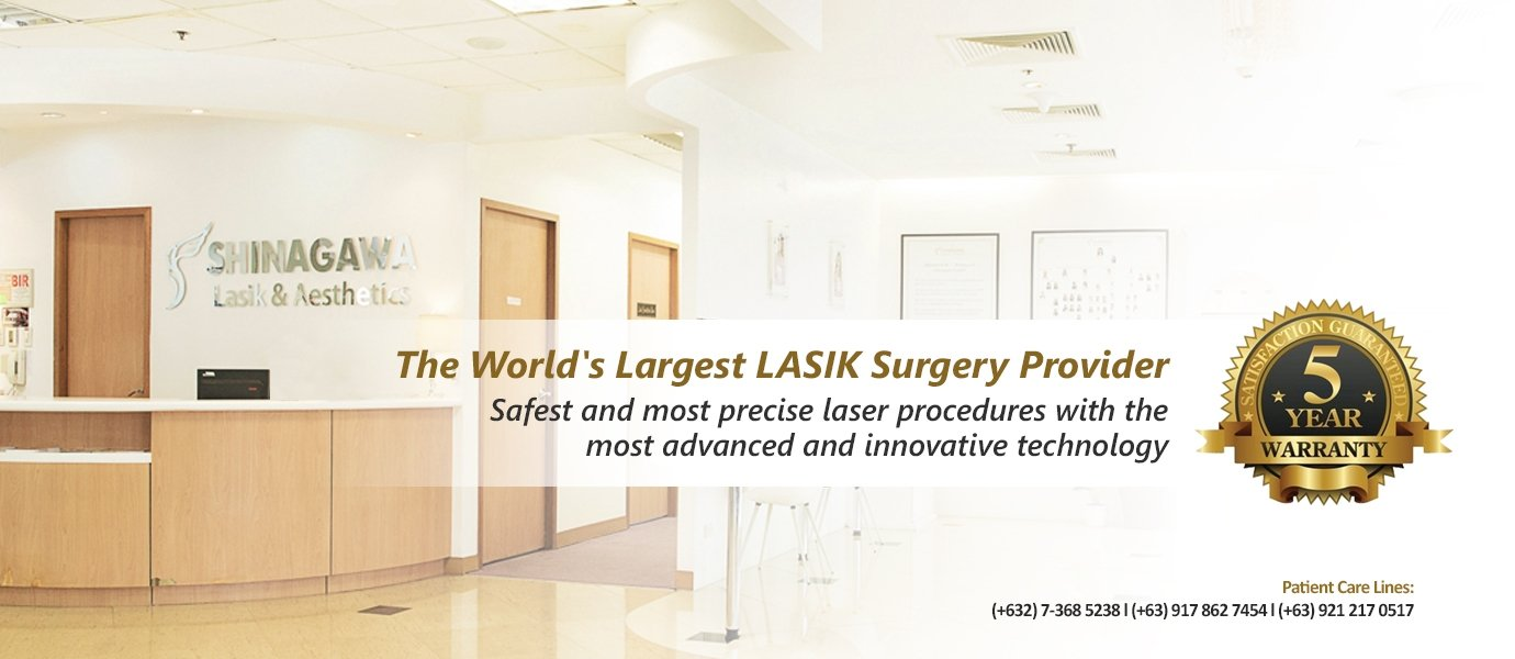 5 Years Warranty at Shinagawa Lasik & Aesthetics