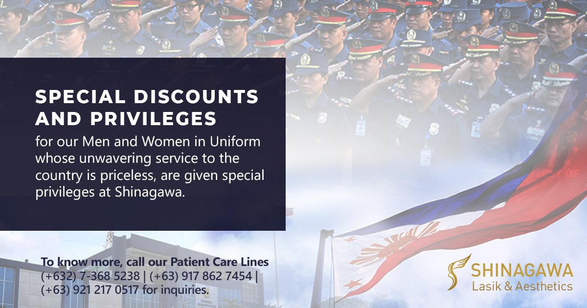 Heroes From PNP and AFP Enjoy Privileges at Shinagawa   Promos & Offers