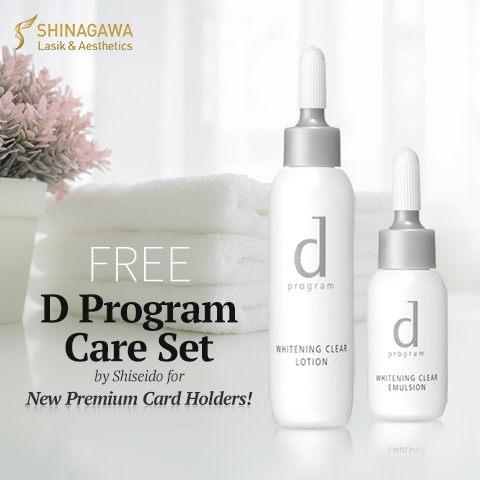 FREE D Program Care Set at Shinagawa | Promos & Offers