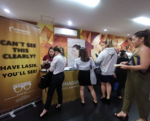 Shinagawa Takes Act To Enderun's Wellness Fair | Shinagawa News & Events