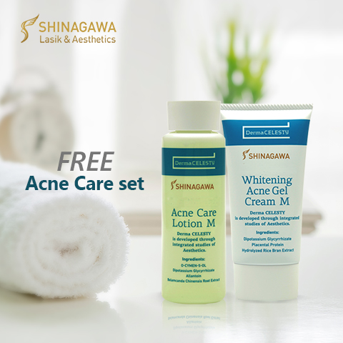 FREE Acne Care Set at Shinagawa | Promos & Offers