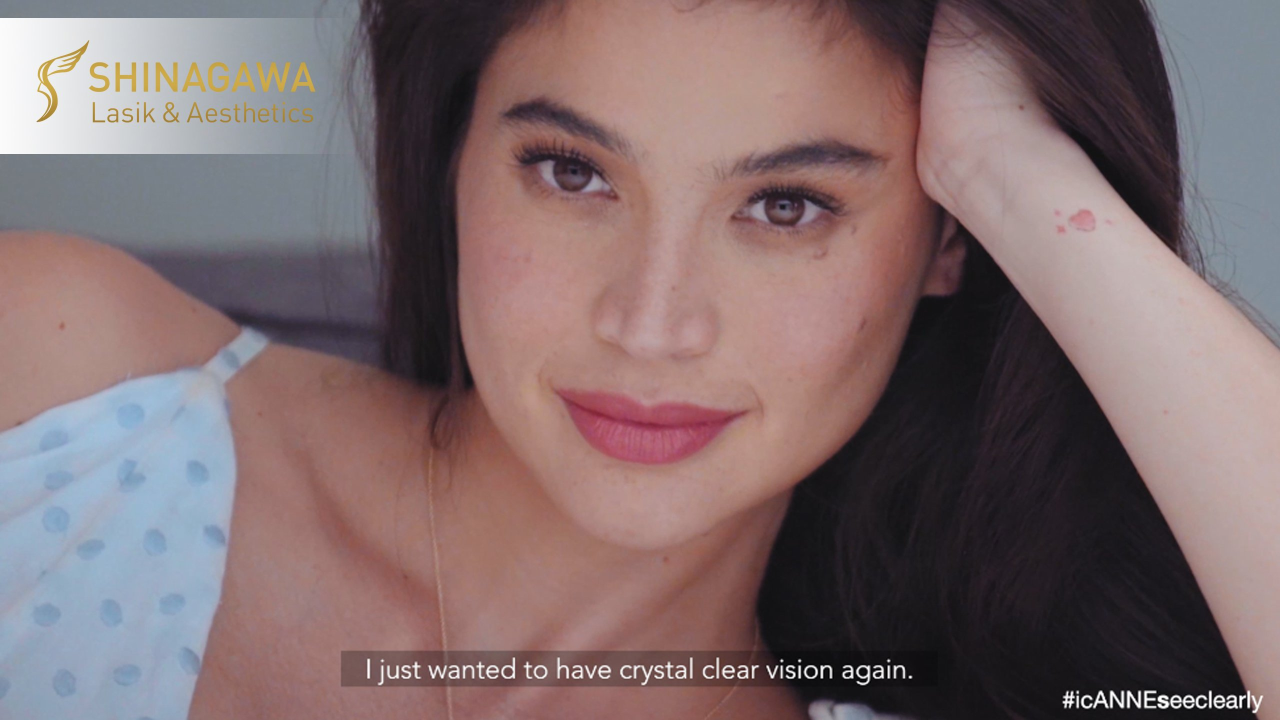 Anne Curtis' LASIK at Shinagawa Lasik & Aesthetics