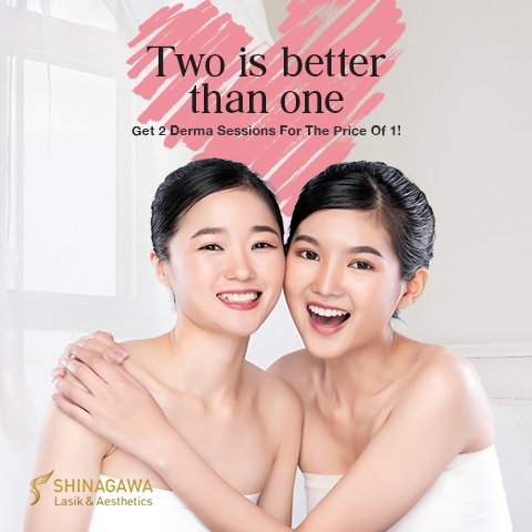 Get 2 Derma Sessions For The Price Of 1 | Promos & Offers