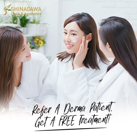 Refer A Derma Patient, Get Rewarded | Promos & Offers