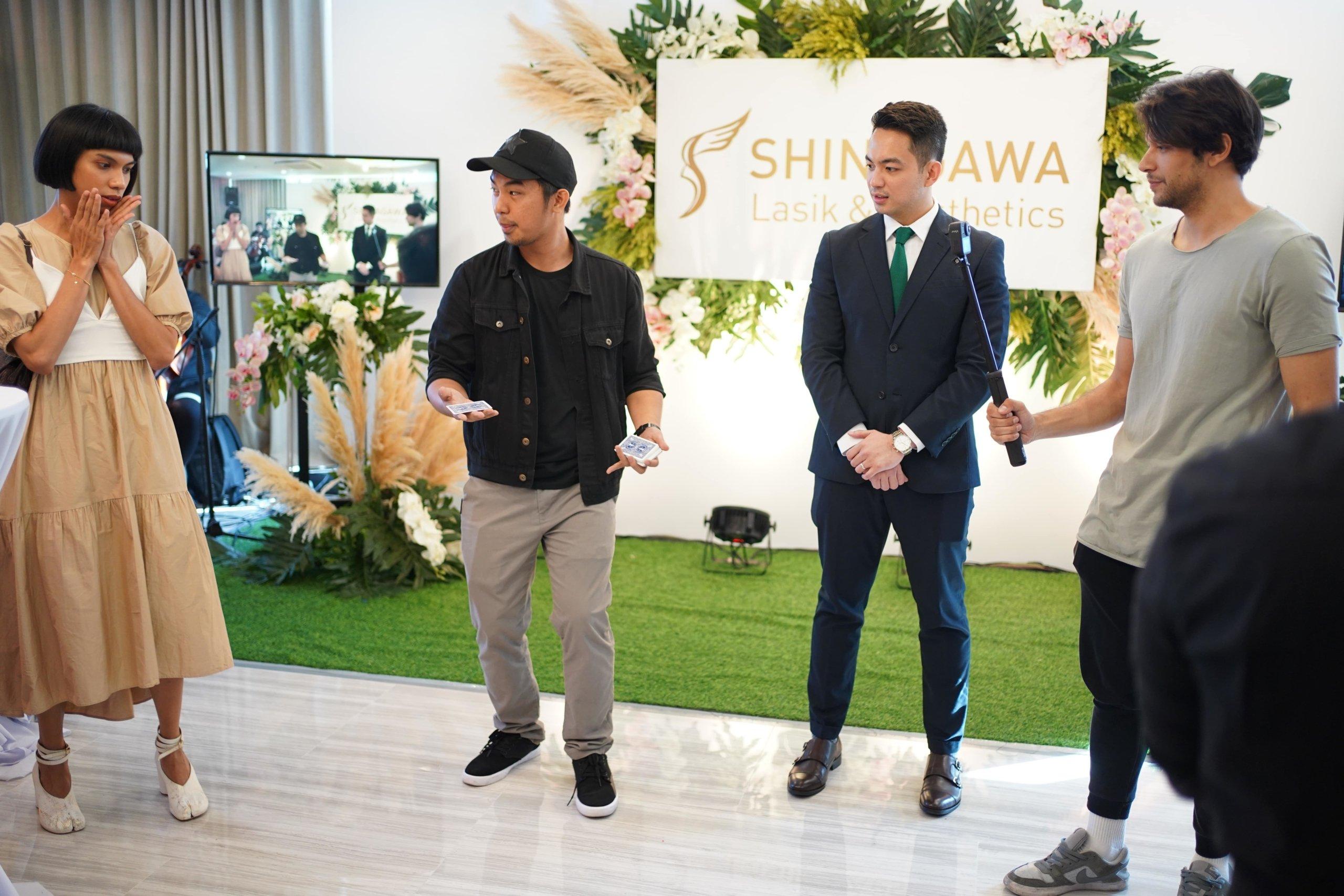 Magic Session at Shinagawa BGC Opening | News & Events