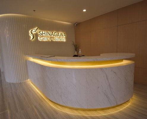 Clinic Reception | Shinagawa Lasik Center BGC