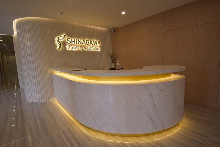 Clinic Reception | Shinagawa Lasik Center BGC