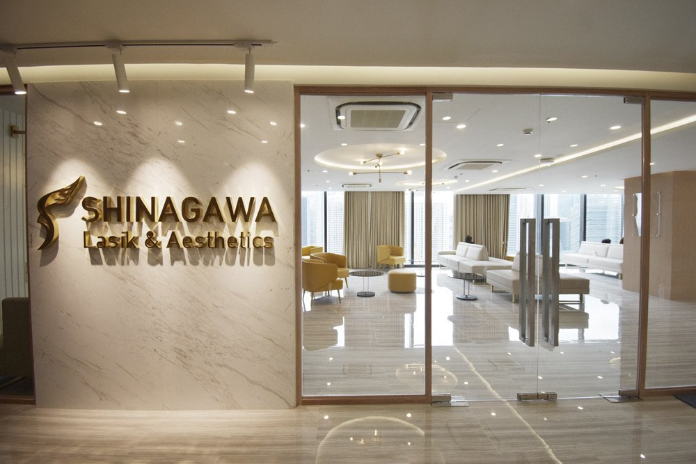 Clinic Entrance | Shinagawa Lasik Center BGC