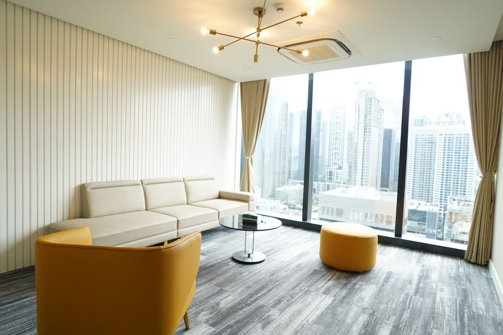 Clinic Lobby | Shinagawa Lasik Center BGC