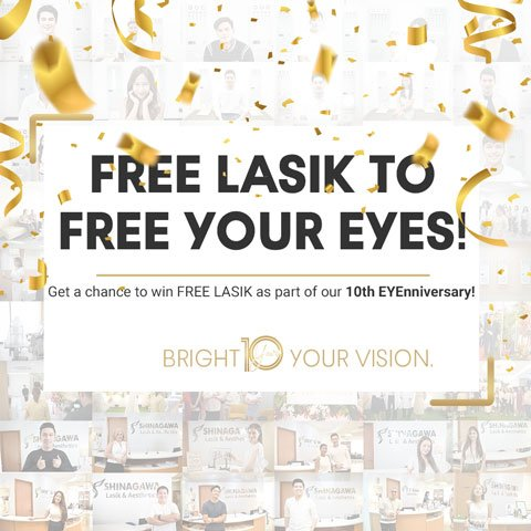 Free LASIK to Free Your Eyes | Promos & Offers
