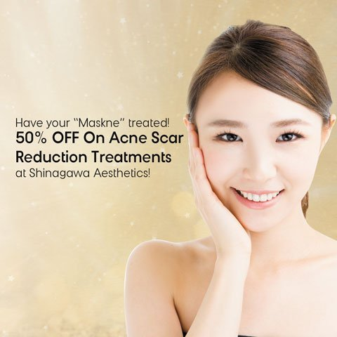 50% OFF On Acne Scar Reduction Treatments | Promos & Offers