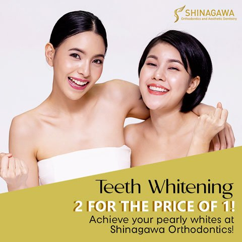 Teeth Whitening 2 For The Price Of 1 | Promos & Offers