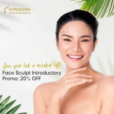 Face Sculpt Introductory Promo: 20% OFF This November | Promos & Offers