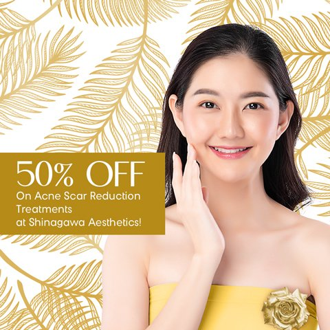 Enjoy 50% OFF On Acne Scar Reduction Treatments | Promos & Offers
