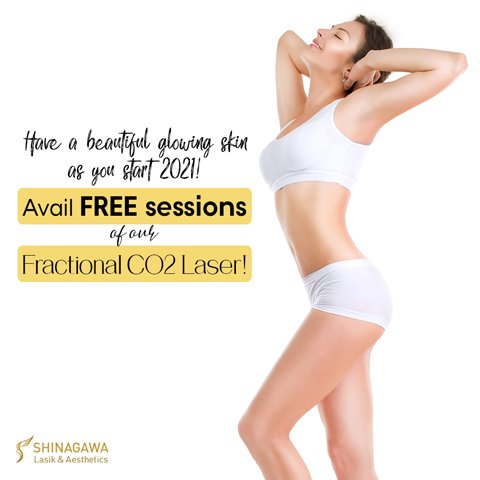 Avail FREE Sessions Of Fractional CO2 Laser | Promos & Offers