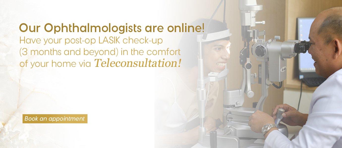 LASIK Teleconsultation at Shinagawa Lasik & Aesthetics