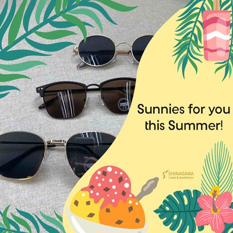 Get Sunnies From Us This Summer | Promos & Offers