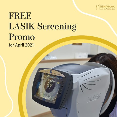 Your LASIK Screening Is On Us This April | Promos & Offers