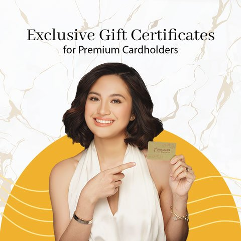 Exclusive Gift Certificates for Premium Cardholders at Shinagawa   Promos & Offers