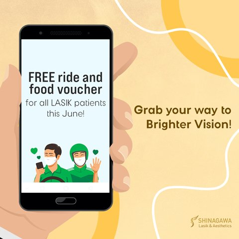 Grab Ride & Food For Eye Surgery Patients This June   Promos & Offers
