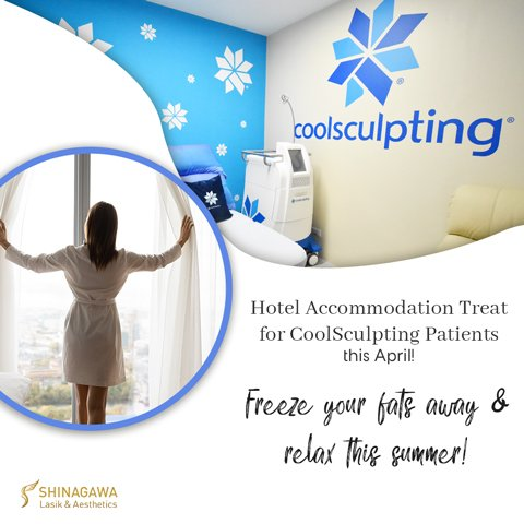 Hotel Accommodation Treat For CoolSculpting Patients | Promos & Offers