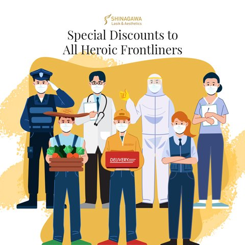 LASIK Discounts To All Our Heroic Frontliners   Promos & Offers