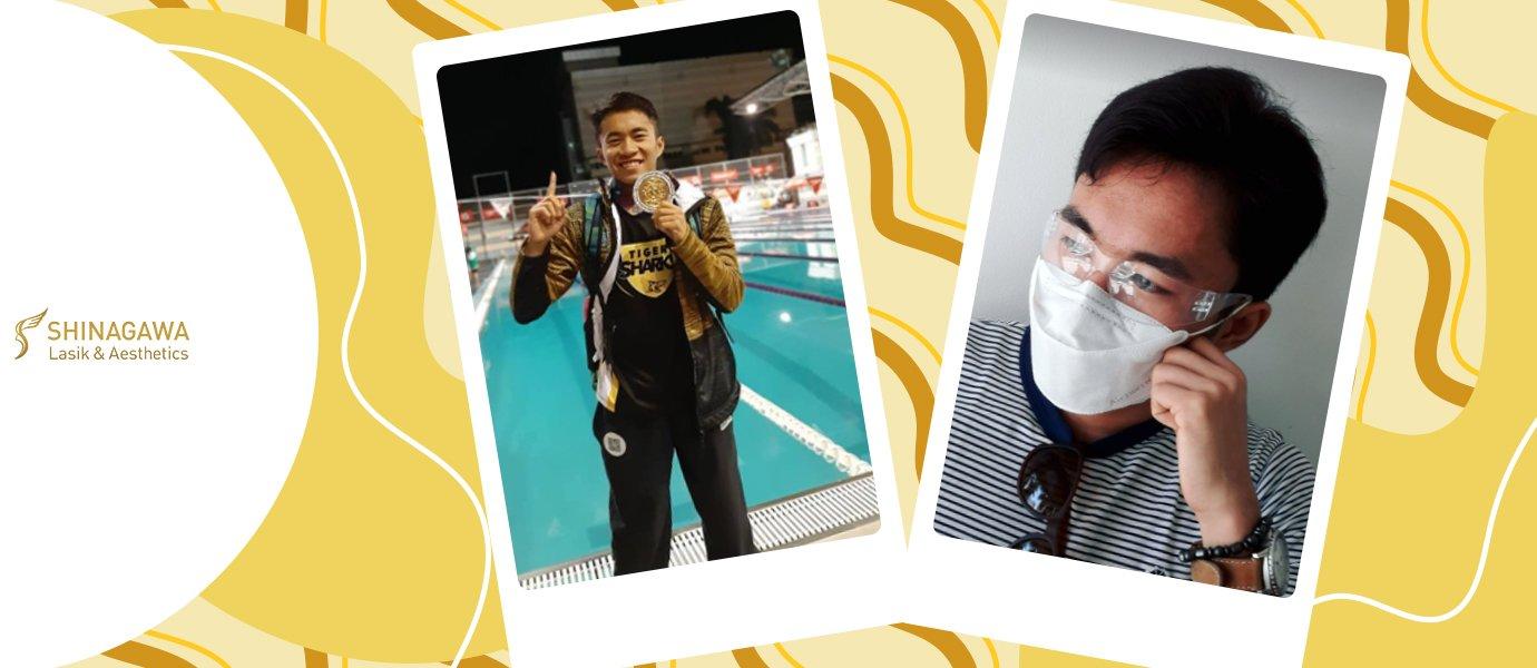 A Better Swimmer After LASIK | Shinagawa Feature Story