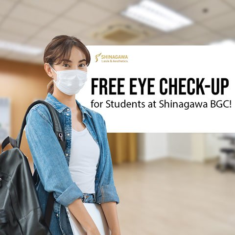 FREE Eye Check-Up For Students   Promos & Offers