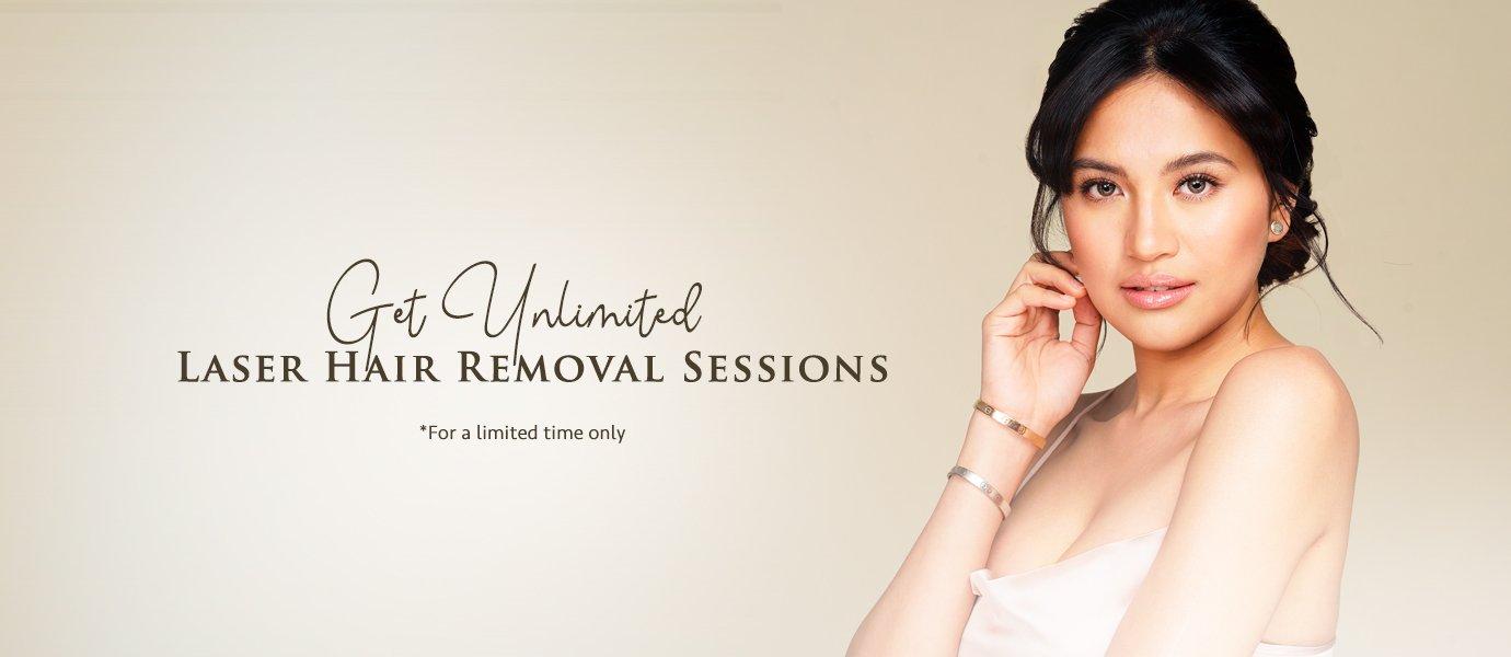 Unlimited Laser Hair Removal Sessions At Shinagawa Aesthetics