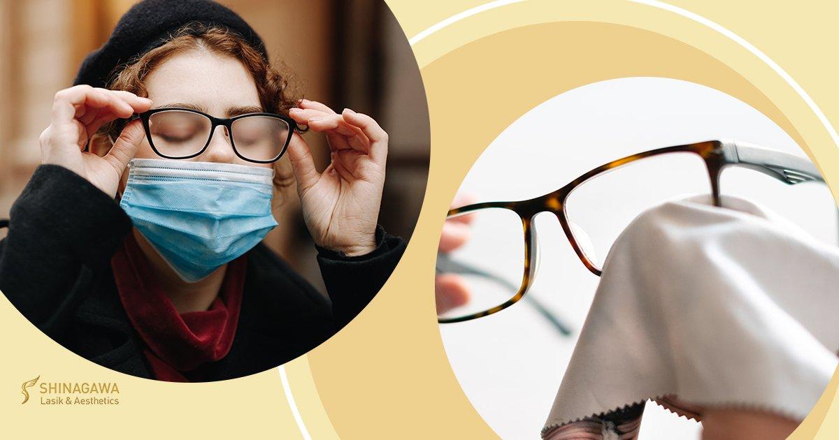 Keep Your Glasses Fog Free While Wearing A Mask | Shinagawa Blog