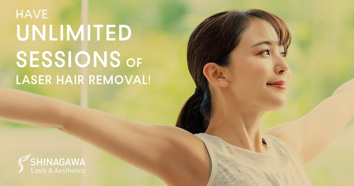 Unlimited Sessions Of Laser Hair Removal   Promos & Offers