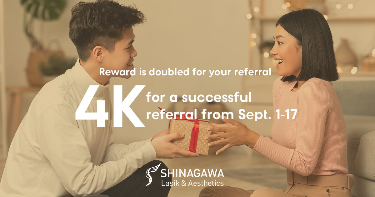 Double Reward For Your Referral This Month At Shinagawa   Promos & Offers